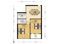 中岗三村 四楼2房 学区房出售,楼层好 价格低,要学区的 赶快入手