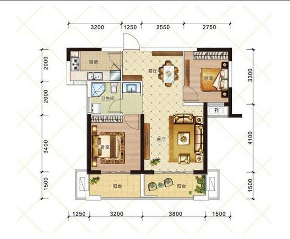S2 两室两厅