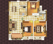 E1 三室两厅一卫