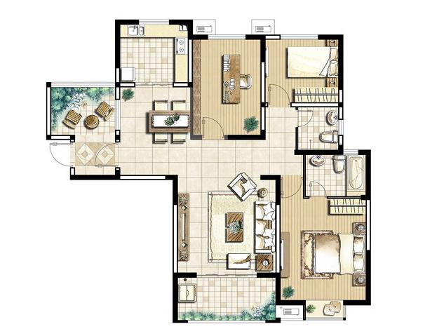 三室两厅两卫