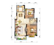 N1(高层)  两室两厅一卫