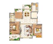 H2(小高层) 两室两厅一卫