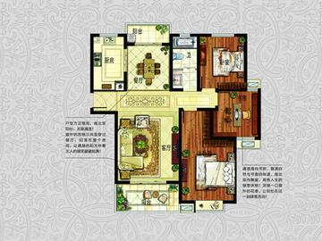 L1(高层) 三室两厅