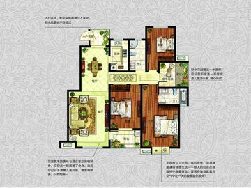 J(高层)  三室两厅