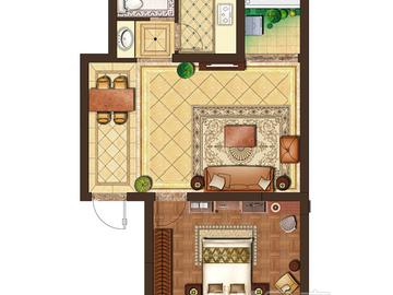 一室两厅一卫