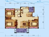 清河湾,电梯洋房,毛坯三房,中间楼层满两年,看房方便有钥匙