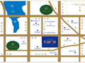 汇金广场交通图