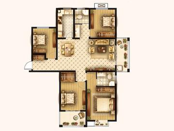 四房两厅两位