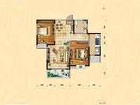 润泽家园 中等楼层 精装两室 拎包入住采光无敌前面无遮挡