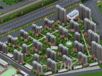 秀山文苑超值中间楼层3房只要59万