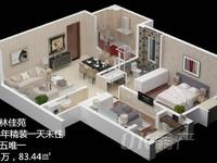 枫林佳苑 全新未住精装两房 家具家电全丢 满五唯一 楼层好 价格低 可随时看房