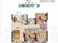 安粮城市广场 转一手合同 可选面积119...136...138,可选楼层!