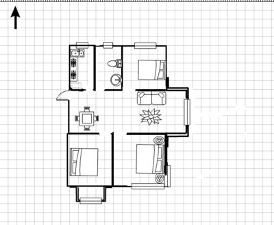 深业华府 31楼 总高33楼 视野开阔 满2年 性价比高 有钥匙看房子