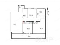 秀山信达城 29楼 新空毛坯小三室 即买即装修 满二年 采光全天无遮挡!