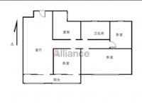 秀山郡 21层 毛坯小三室 满二年 送车位 有钥匙 随时看房 采光无遮挡!