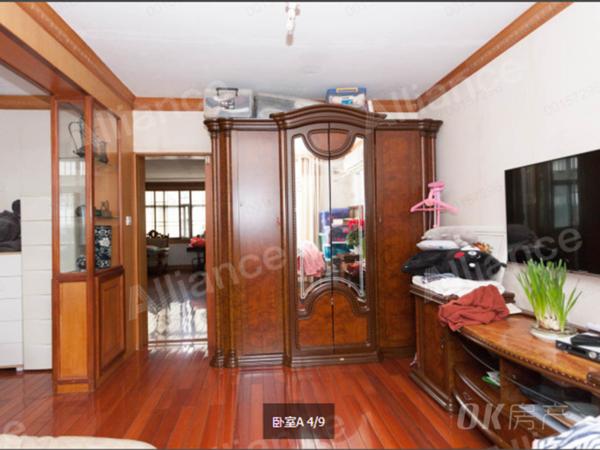 珍珠园七村 顶楼 精装修三室 采光无遮挡 三个卧室朝南 看房方便 满二年!