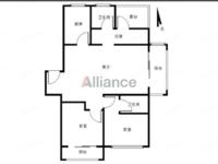 深业华府,毛坯三房,中间楼层,满两年,看房方便,有钥匙