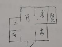 慈湖河小区,东方城三期南面,六楼复式,平顶,上下一样大。毛坯,满五唯一