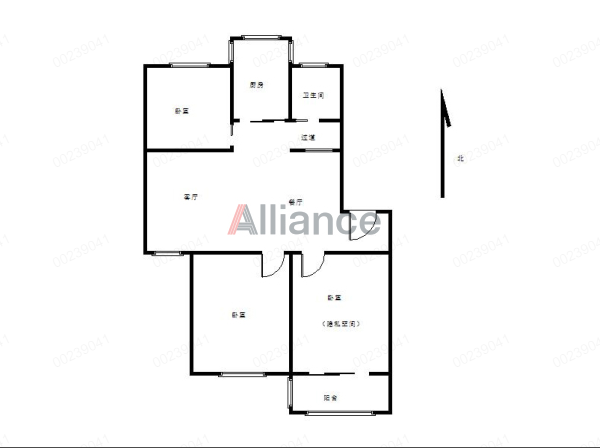 佳山二村多层的四楼 生活便利 湖东二小 性价比高的三室 靠近雨山湖