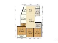深业华府 20楼 大四房 房子性价比高 看房有钥匙 一口价