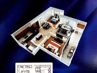 高速北旁枫林佳苑中上楼层91.26平方2室2厅毛坯房