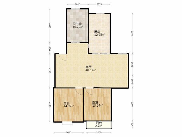 新上房源 江东小区 装修大两房采光好 一楼带院子 满五唯一