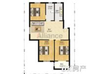 出售金桥雅苑3室1厅1卫95.4平米58万住宅