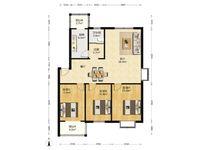 九缘 多层三楼 毛坯大三室 满二年 有钥匙方便看房 可贷款!