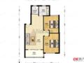 滨江郡 中间层 户型好 2室1厅 满2年 有钥匙 看房方便
