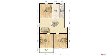 金安佳苑精装三室,满五不唯一,多层一楼,房东诚意出售