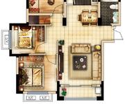 3房2厅1卫